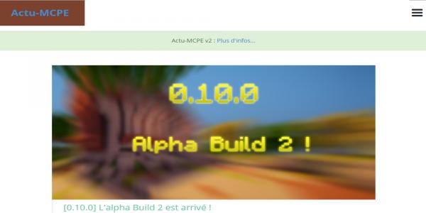 Nouvelle version de notre application Android !