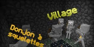 [Seed] Village et Donjon à squelettes