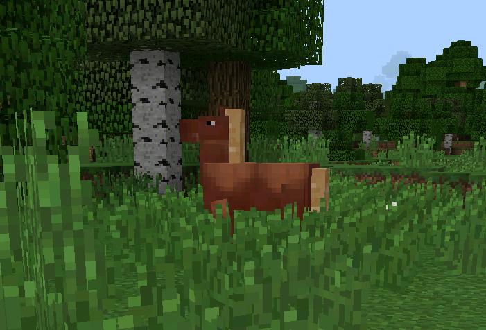 мод на майнкрафт 0.13 лошади #6