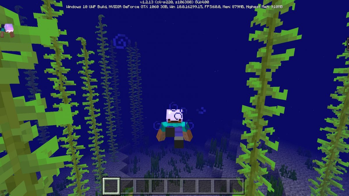 Mise à jour MCPE 1.3 [Update Aquatic]